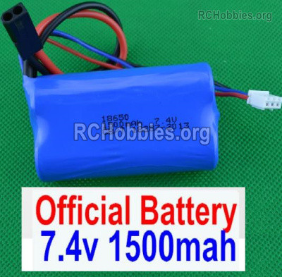 Subotech BG1525 Battery Packs Parts, 2S 7.4V 1500mah Lipo Battery. Total 1pcs. DZDC01